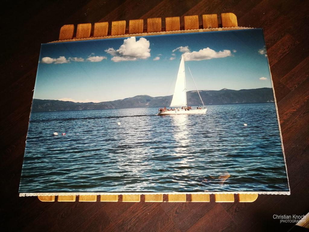 """Sailing on Lake Tahoe"" by Chris Knoch"